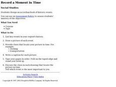 Record a Moment in Time Lesson Plan