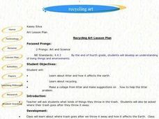 Recycling Art Lesson Plan