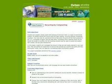 Recycling by Composting Lesson Plan