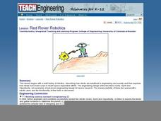 Red Rover Robotics Lesson Plan