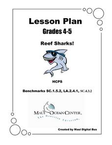 Reef Sharks! Lesson Plan