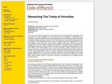 Reenacting the Treaty of Versailles Lesson Plan