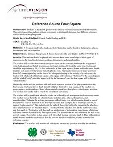 Reference Source Four Square Lesson Plan