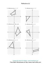 Reflections (4) Worksheet