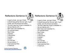 Worksheets Science Starters Worksheet science starters worksheet vintagegrn reflections sentence 6th 8th grade lesson