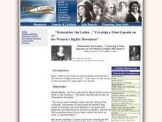 """Remember the Ladies..."" Lesson Plan"