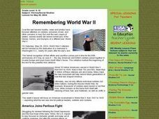 Remembering World War II Lesson Plan