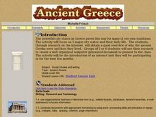 Researching Ancient Greece Lesson Plan