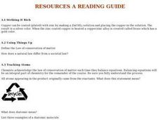 Resources - A Reading Guide Worksheet