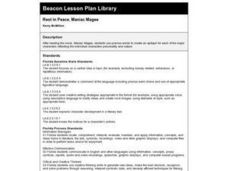 Rest in Peace, Maniac Magee Lesson Plan