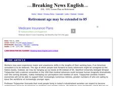 Retirement Age Worksheet