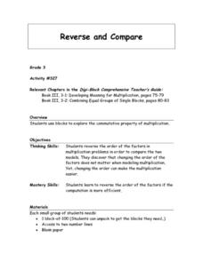 Reverse and Compare Lesson Plan