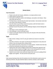 Review Games Lesson Plan