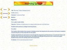 Rhyming Collage Lesson Plan