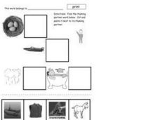 Rhyming Partners Worksheet