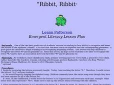 Ribbit, Ribbit Lesson Plan