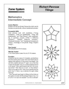 Richert-Penrose Tilings Lesson Plan