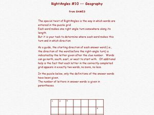 Right Angles Worksheet