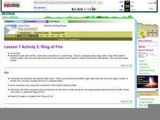Ring of Fire Lesson Plan