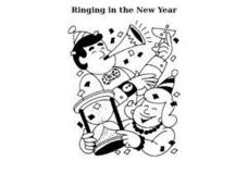 Ringing in the New Year Worksheet