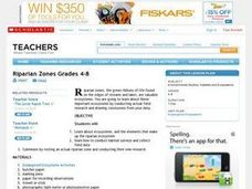 Riparian Zones Grades 4-8 Lesson Plan