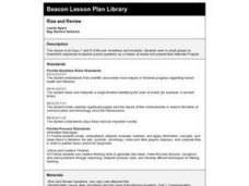 RISE AND REVIEW Lesson Plan