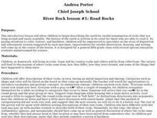 River Rock #1: Road Rocks Lesson Plan