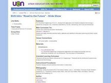 Road to the Future - Presentations Lesson Plan