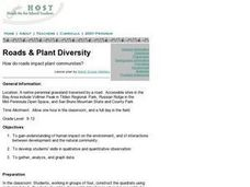 Roads & Plant Diversity Lesson Plan