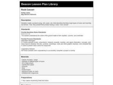 Rock Concert Lesson Plan
