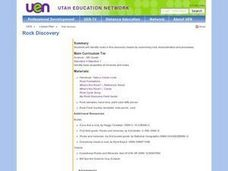 Rock Discovery Lesson Plan