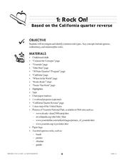 Rock On! Lesson Plan