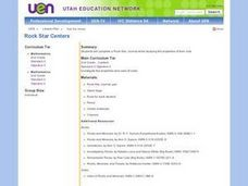 Rock Star Centers Lesson Plan