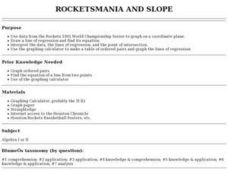 Rocketsmania And Slope Lesson Plan