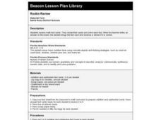 Rockin Review Lesson Plan