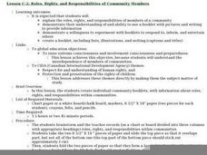 Roles, Rights, and Responsibilities of Community Members Lesson Plan