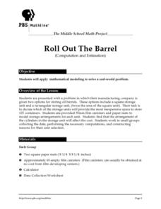 Roll Out the Barrel Lesson Plan