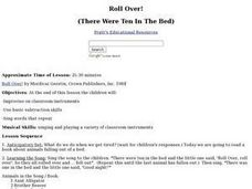 Roll Over Lesson Plan