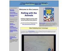Rolling with the Animals Lesson Plan
