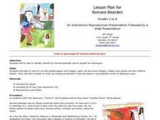 Romare Bearden Lesson Plan