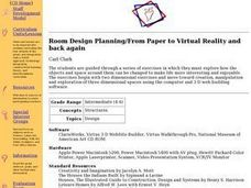 Room Design Planning/From Paper to Virtual Reality and Back Again Lesson Plan
