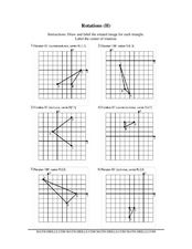 Rotations Worksheet