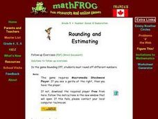 Rounding and Estimating 1: Introduction Lesson Plan