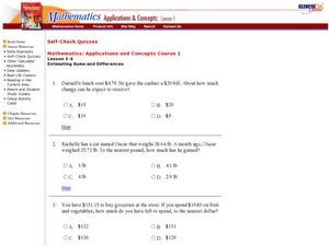 Rounding Worksheet