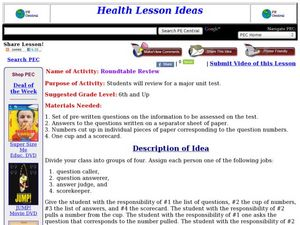 Roundtable Review Lesson Plan