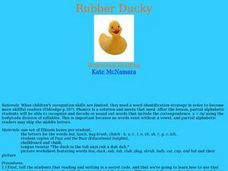 Rubber Ducky Lesson Plan