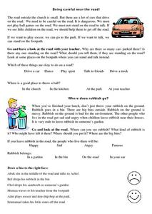 Rules for Safe And Proper Behavior At School Lesson Plan