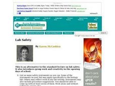 Rules of Laboratory Safety Lesson Plan