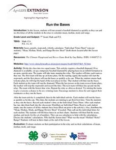 Run the Bases Lesson Plan