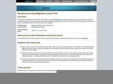 Runaway Journeys Migration Lesson Plan